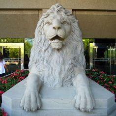 The Lion Calgary, Lion Sculpture, Statue, Art, Kunst, Sculpture, Art Education, Artworks