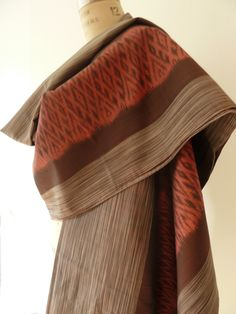 HANDWOVEN THAI SILK IKAT SHAWLS - ONE OF A KIND COLLECTION