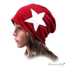 Mütze / Beanie WHITE STAR rot