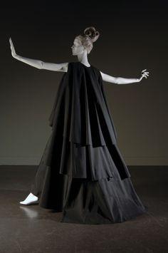 Madame Grès dress ca. 1967 via The Museum at FIT