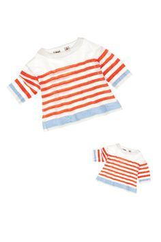 lemlem Kids Gigi Smock Shirt. Finally, a great piece that comes in mommy size too! A #CanDoBaby! fave.