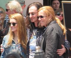 Geddy and family
