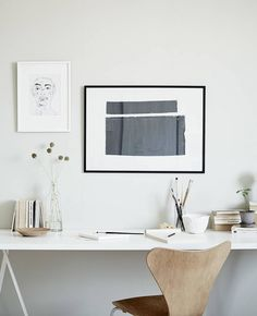 'Minimal Interior Design Inspiration' is a weekly showcase of some of the most perfectly minimal interior design examples that we've found around the web - all Interior Design Examples, Interior Design Inspiration, Home Interior Design, Interior And Exterior, Workspace Design, Home Office Design, Home Office Decor, Workspace Inspiration, Decoration Inspiration