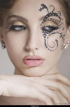 makeup fantasy face - Buscar con Google