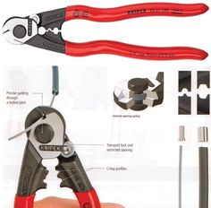 Knipex 95 61 190 Wire Rope Cutters