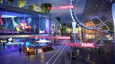 Combining a water park, exhibitions, sports, music venues, shops, restaurants, hotels and more, Europa City is proposed as a visionary leisure and culture hub outside… http://vimeo.com/116327631