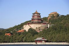 Much Chinese architecture was grand and expensive they built big to impress their people and their opposition.