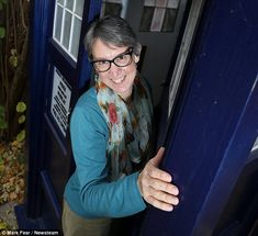 something for the back yard is mother uses tardis as garden shed tardis
