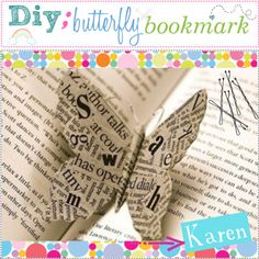 """""""DIY Butterfly Bookmark"""" by everygirlhasatip on Polyvore"""