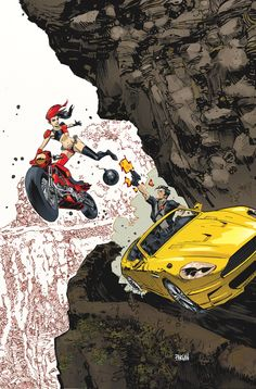 dc comics February variant covers | DC Comics February 2015 Theme Month Variant Covers Revealed - Harley ...