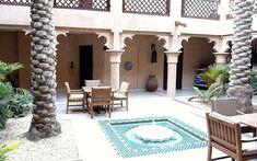 Courtyard Al Masyaf Hotel Dubai Best Hotels In Dubai, Dubai Hotel, Patio, Outdoor Decor, Home, Ad Home, Homes, Haus, Terrace