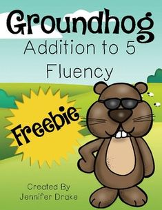 Groundhog DayAddition Fluency***Are you getting ready to celebrate Groundhog's Day??  You can find all my Groundhog Day resources here!***Need a quick math center, morning tub or early finisher activity for groundhog week that practices addition fluency to 5?!There are 2 options of this FREE math center- color or black and white!This Pack Includes:*Directions and Suggestions for use*Full Color Activity Mat*Black and White Activity MatAll you'll need to do is print and provide paperclips and…
