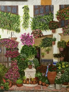 #art patio de Granada