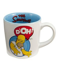 Love this 'D'oh!' Homer Simpson Mug by The Simpsons on #zulily! #zulilyfinds