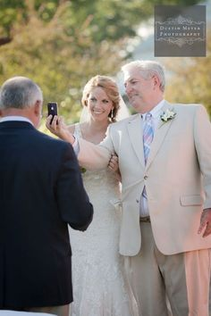 New Hampshire Wedding Photographers Father Of The Bride Iphone Ceremony Shot Http
