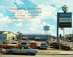 Peabody Motors, Chrysler-Plymouth, San Leandro CA