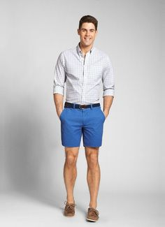 Blue Shorts Mens