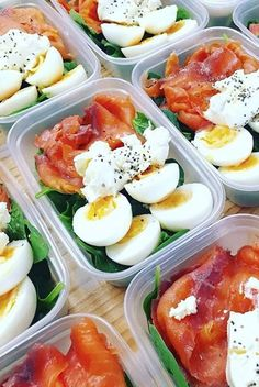 Here are some super simple meal prep combinations that will save you time and money. All are filling, healthy, and packed with protein.