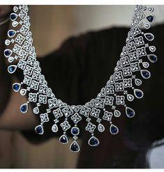Necklaces – Page 7 – Modern Jewelry Real Diamond Necklace, Diamond Jewelry, Emerald Necklace, Diamond Necklaces, Necklace Designs, Modern Jewelry, Beautiful Necklaces, Wedding Jewelry, Jewelry Sets