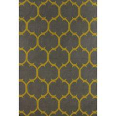 Bashian Rugs Rockport Gray & Gold Area Rug & Reviews | Wayfair
