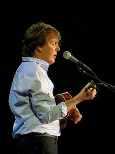 """Paul McCartney """"Out There"""" concert tour.  He played for 3 hours and was amazing @ MSG!"""
