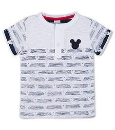 f07882dee0 Disney Kurzarmshirt in der Farbe weiß   grau bei C A Zara Kids