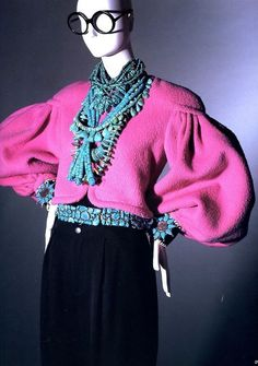 With fabulous flair: Millicent Rogers (would love to see this jacket in a different fabric)