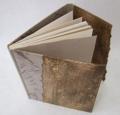 Handbound book by Sandra Tanguy