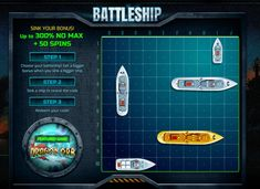 Battleship Promo: up to 300% No Max Bonuses and Free Spins on Dragons Orb Slot at Selected RTG Casinos
