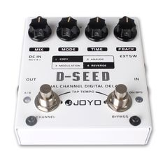 Joyo D-Seed. Heard too much about this not to get one. Should do everything that a Boss DD 3 can do at half the price! Will let you kids know!