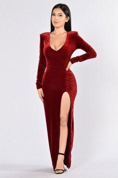 Love Sex Magic Dress - Wine