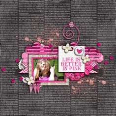 Better in Pink - Scrapbook.com