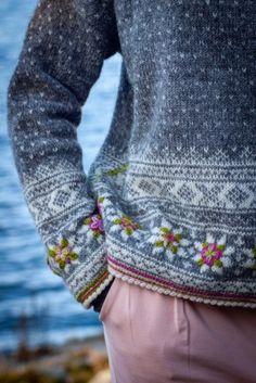 Fair Isle Knitting Patterns, Sweater Knitting Patterns, Knitting Stitches, Knitting Designs, Knit Patterns, Baby Knitting, Knitting Tutorials, Vintage Knitting, Free Knitting