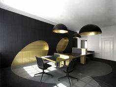 moderne büro einrichtung