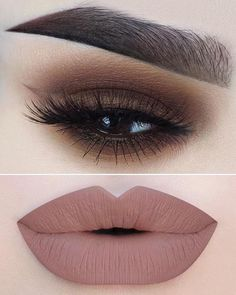 Beautiful make-up idea up Nude Lipstick, Lipstick Shades, Lipstick Colors, Lip Colors, Matte Lips, Liquid Lipstick, Makeup Goals, Makeup Inspo, Makeup Inspiration