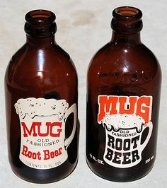Mug Root Beer. #vintage #product #packaging    Source: The Museum of American Packaging. http://www.flickr.com/photos/roadsidepictures/sets/939353/