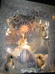 Holiday Wonderland Store Windows - Bergdorf Goodman's 'White Christmas' (GALLERY)