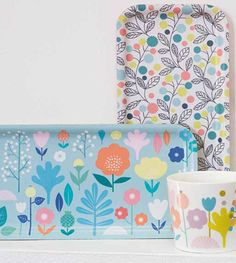print & pattern blog : SS 2016 - atomic soda Mini Labo trays
