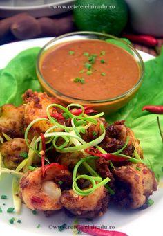 Udang bumbu kacang – Prawns & spicy peanut sauce