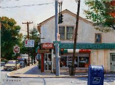 by James Gurney - Plein Air painting