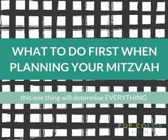 You just got your Mitzvah date and are itching to get started, but what do you do first? Make your guest list. Here are tips to get you started.