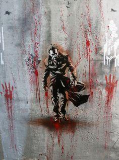 Joker Berlin based Street Artist Plotbot KEN became known for his high quallity multi layer stencils in Berlin. Also check out: StreetArtBLN.com or: de-de.facebook.com/plotbot