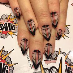 @asabree #mattenails #prestogel #fingerbangme #fingerbangportland #fingerbang #nailswag #nailchurch