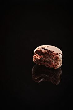 Chocolate Macaron by yuehandicrafts, via Flickr
