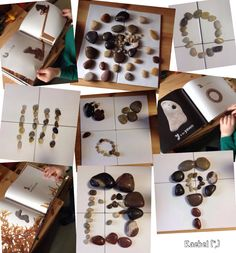 "Stone exploration at the Discovery Table - from Rachel ("",) Classroom Activities, Learning Activities, Preschool Ideas, Nursery Jobs, Plant Insects, Frozen Film, Spring Plants, Reggio Emilia, Disney Films"