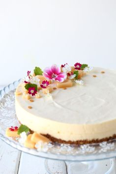 Fancy Desserts, Summer Desserts, Good Food, Yummy Food, Sweet Pastries, Cheesecakes, No Bake Cake, Vanilla Cake, Sweet Tooth