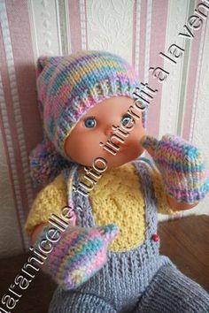 tuto gratuit poupée: moufles avec pouces - http://laramicelle2210.overblog.com/2015/10/tuto-gratuit-poupee-moufles-avec-pouces.html