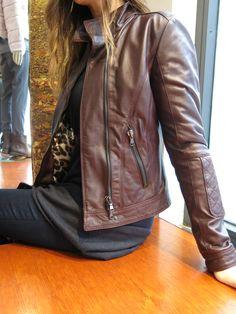 #leather #jacket #leatherjacket #bordeaux #fashion #pigal #pigalboutique #nailjacket www.pigal.com