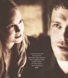 Find images and videos about adorable, the vampire diaries and tvd on We Heart It - the app to get lost in what you love. Vampire Diaries The Originals, The Vampire Diaries 3, Vampire Diaries Quotes, Caroline Forbes, Klaus And Caroline, Tvd Quotes, Movie Quotes, Life Quotes, The Cw