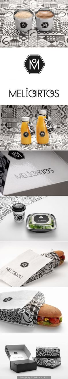 Meliartos by Kanella via The Dieline, are you hungry yet packaging curated by Packaging Diva PD